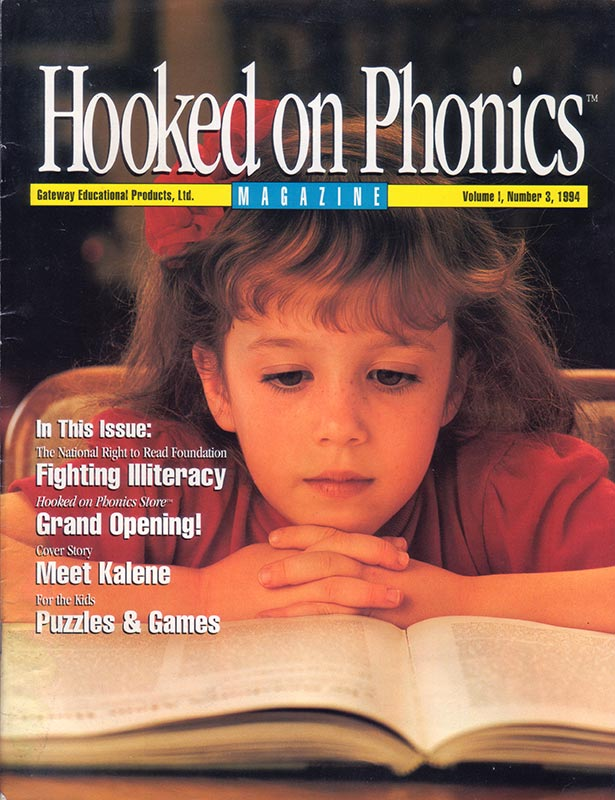 Hooked On Phonics Magazine/Catalog